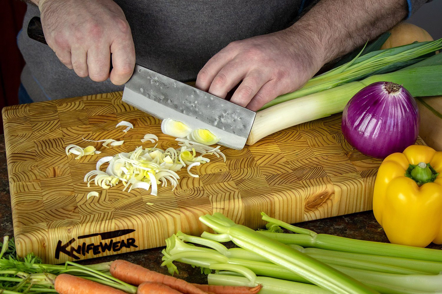 Knife Care: Why Everyone Needs a Larchwood Cutting Board