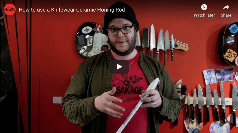How to Use a Ceramic Honing Rod to Keep Your Knives Sharp
