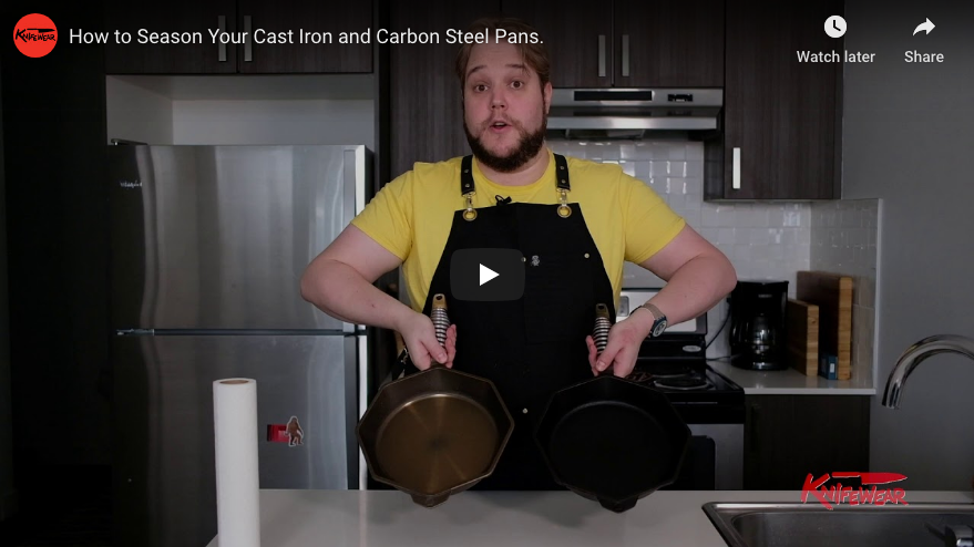 Cast Iron Care and Seasoning