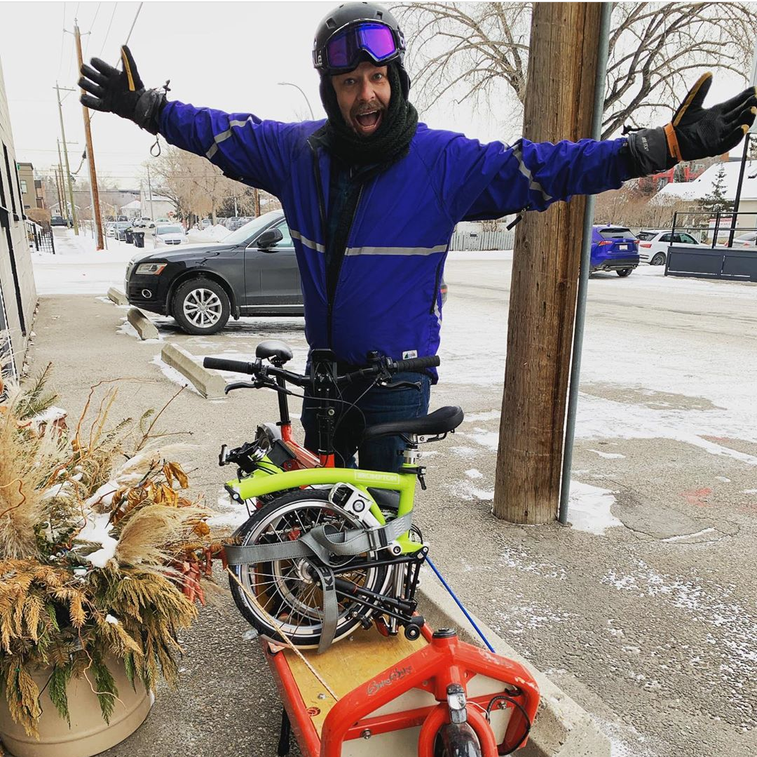 Get Your Order Delivered on Bike in Calgary!