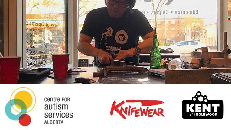 Knifewear and the Centre for Autism Services of Alberta