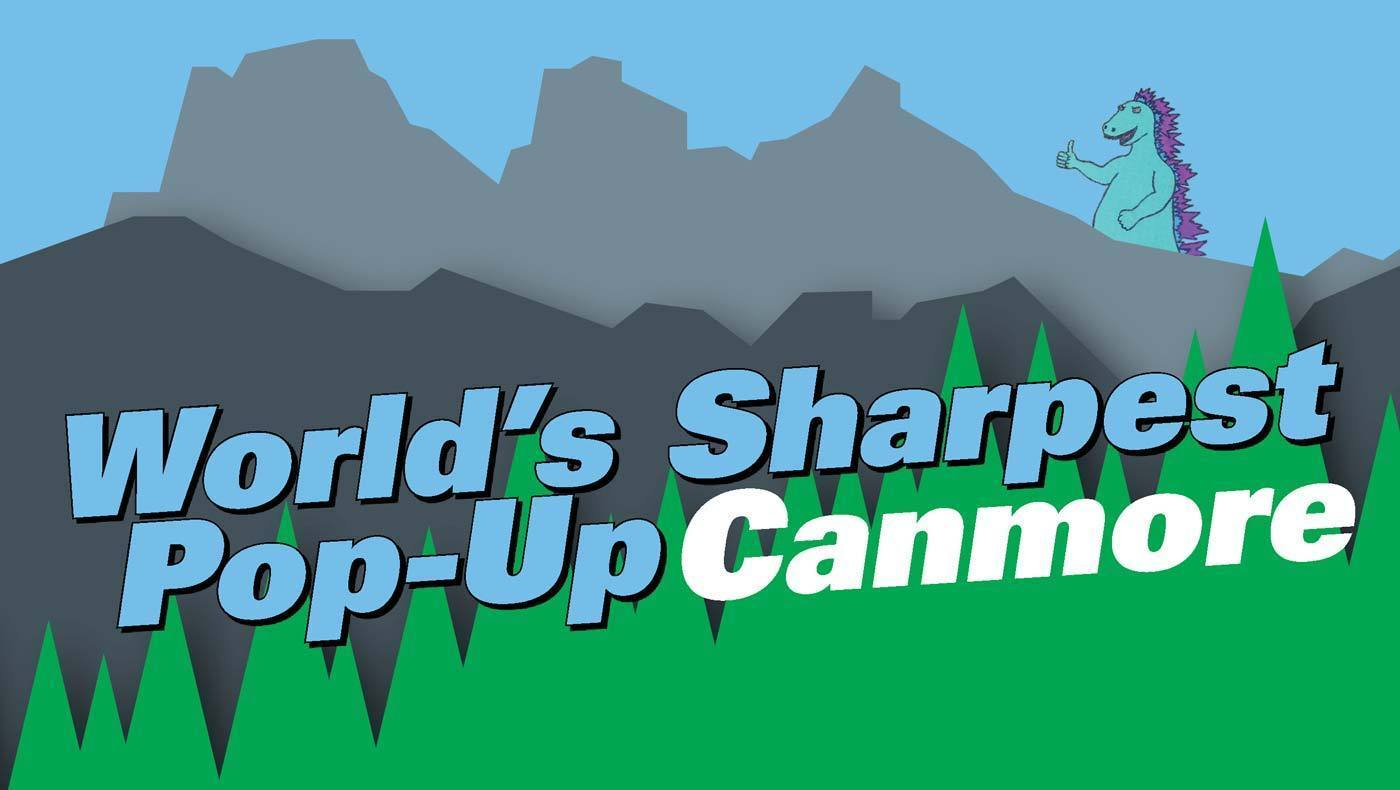 "KNIFEWEAR'S ""WORLD'S SHARPEST POP-UP"" IS COMING TO CANMORE... TWICE!"