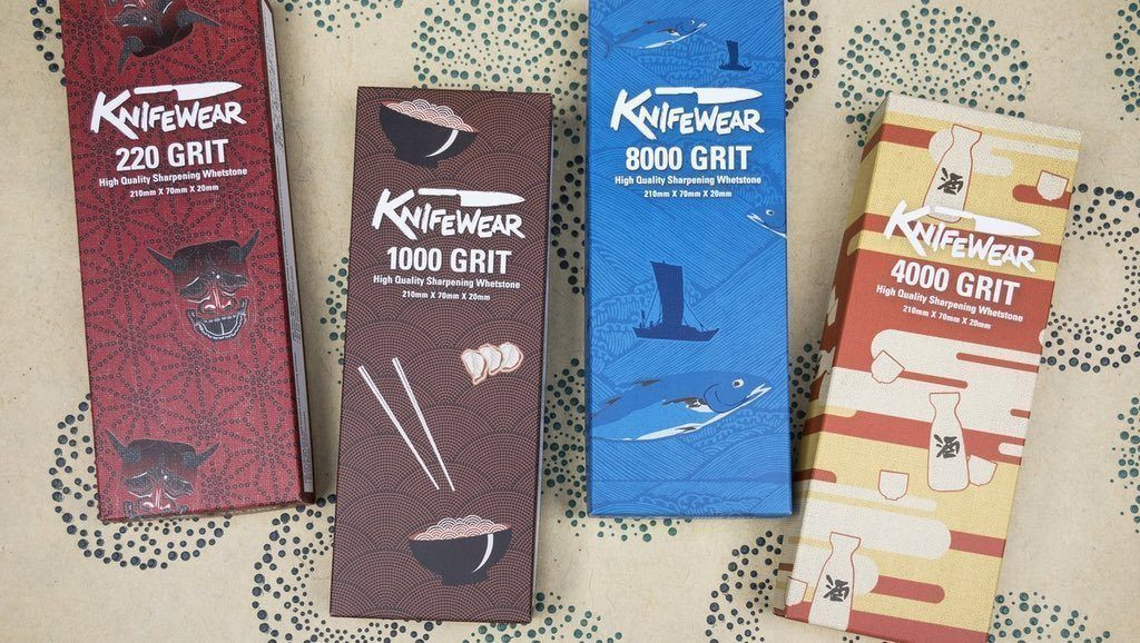 Announcing Knifewear Waterstones