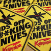 Knifewear Hands off my knives Patch