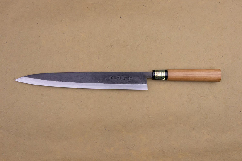 Moritaka AS Kurouchi Cherry Handle Sujihiki 270mm