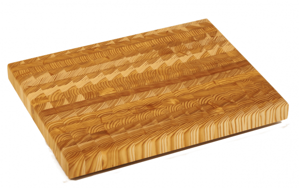 Larch wood Premium End Grain Cutting Board