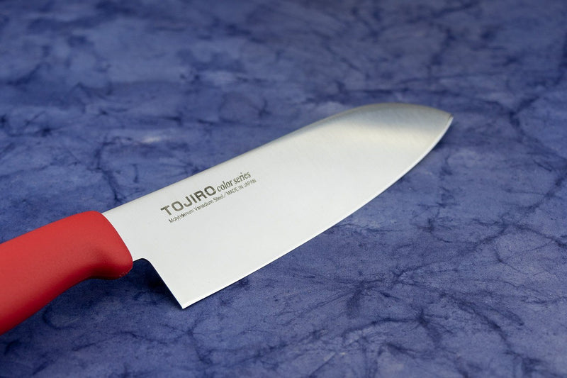 Tojiro Red handle Santoku 170mm F-172R