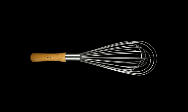 Whisk 12 inch Balloon Wood handle