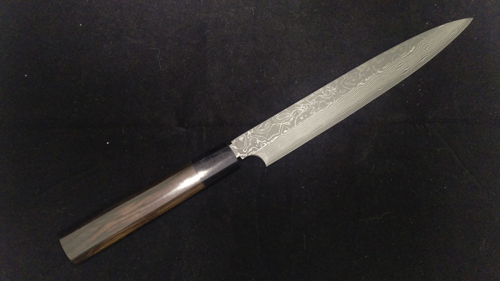 Kitaoka VG10 Nickel Damascus Yanagiba 240mm