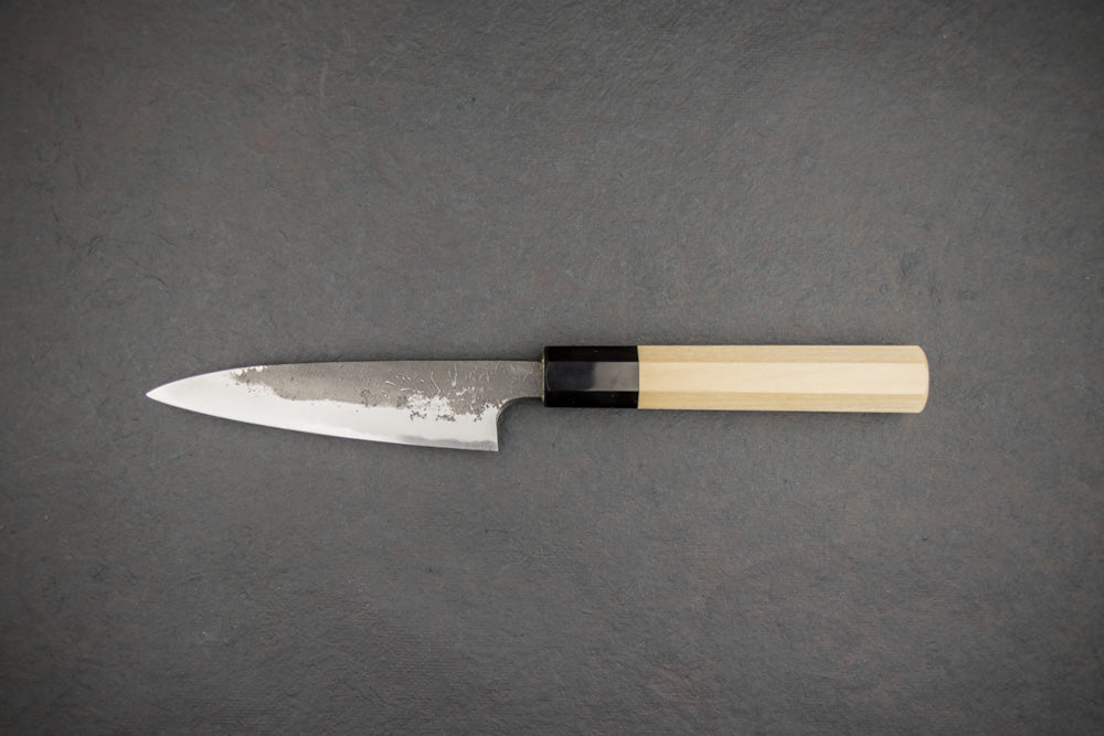 Mazaki Shirogami Nashiji Petty 120mm