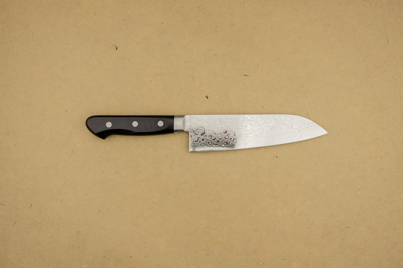 Nanashi VG10 45 Layer Damascus Santoku 165mm