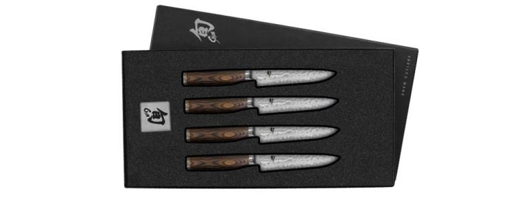 Shun Premier Steak Knife Set 120mm