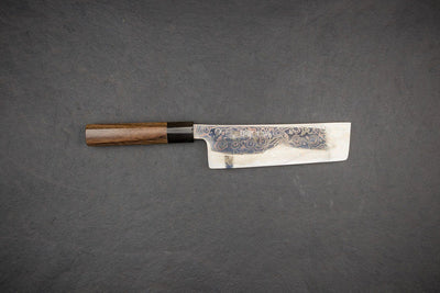 Tsukasa Hinoura VS2 Colour Damascus Nakiri 165mm