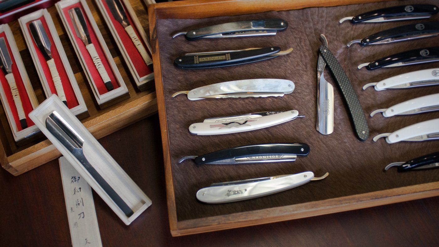 Kent of Inglewood's annual March Straight Razor Sale!