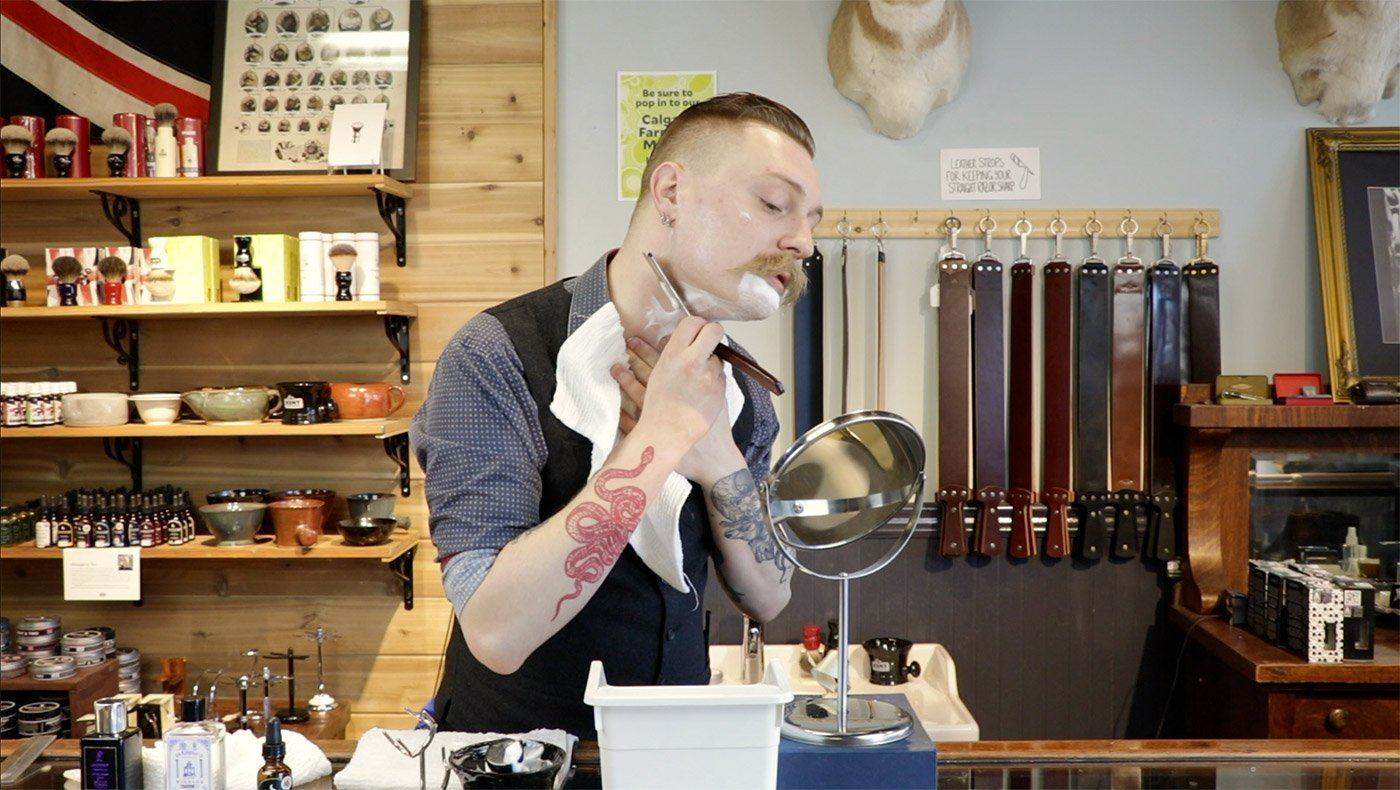 How to Shave with a Straight Razor Part 2: Tips for Using Your Blade