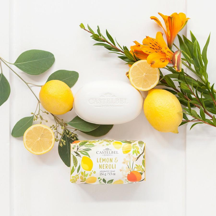 Castelbel Porto Seasonal Collection Fruits and Flowers Lemon & Neroli Soap