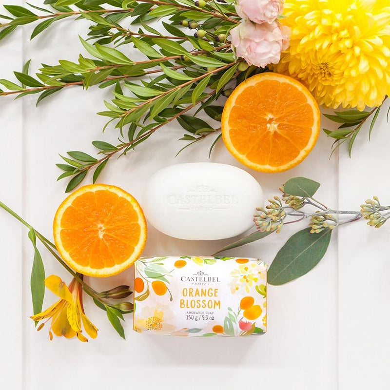 Castelbel Porto Seasonal Collection Fruits and Flowers Orange Blossom Soap