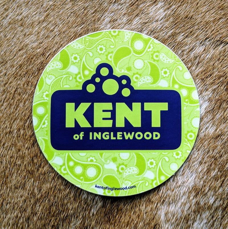 Kent of Inglewood Logo Sticker