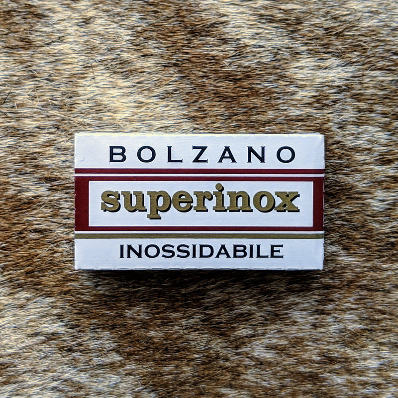 Bolzano Double Edge Razor Blades  1 Pack of 5 Blades