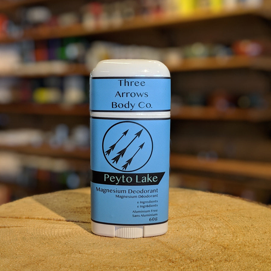 Three Arrows Magnesium Deodorant - Peyto Lake 60g