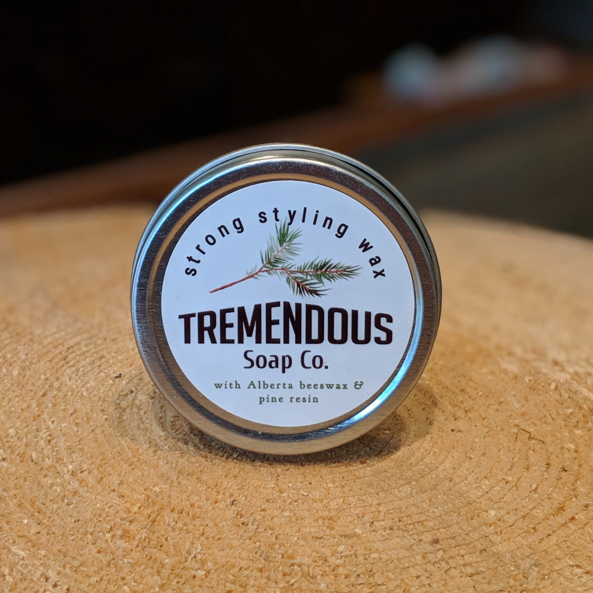 Tremendous Strong Hold Moustache Wax