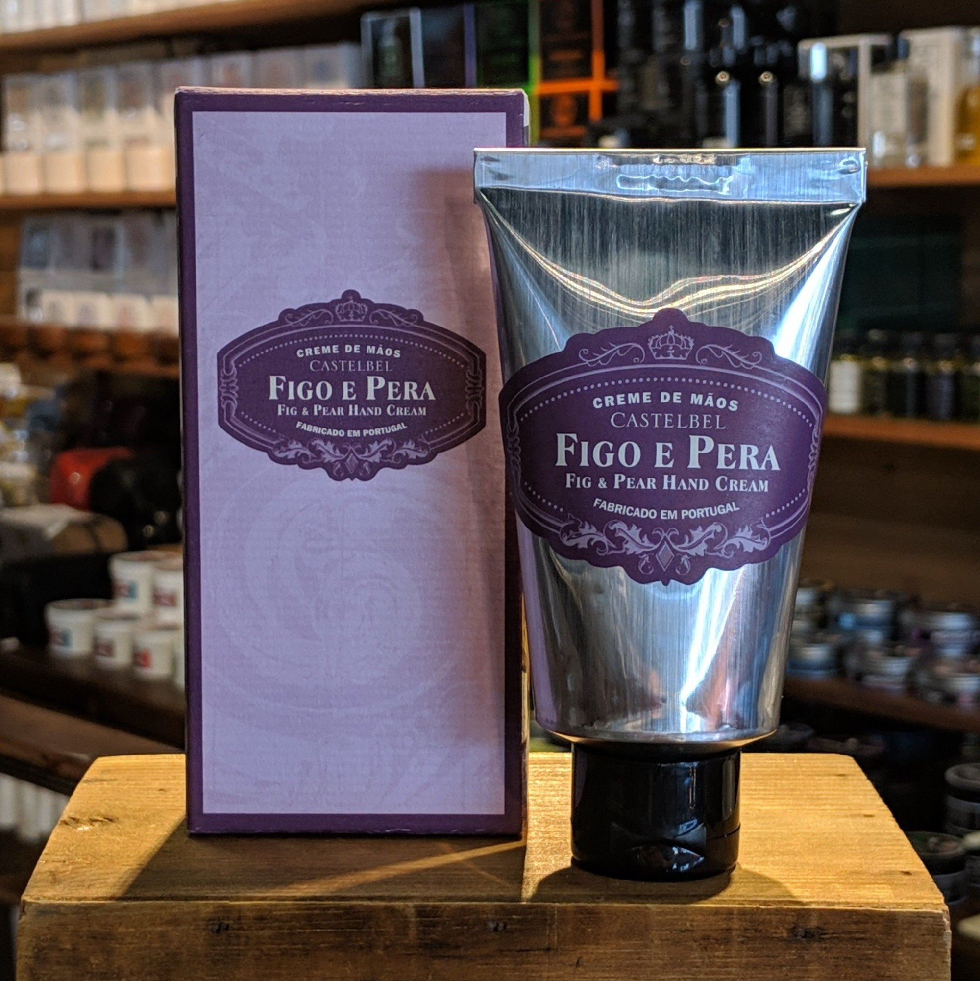 Castelbel Porto Ambiente Collection Fig and Pear Hand Cream
