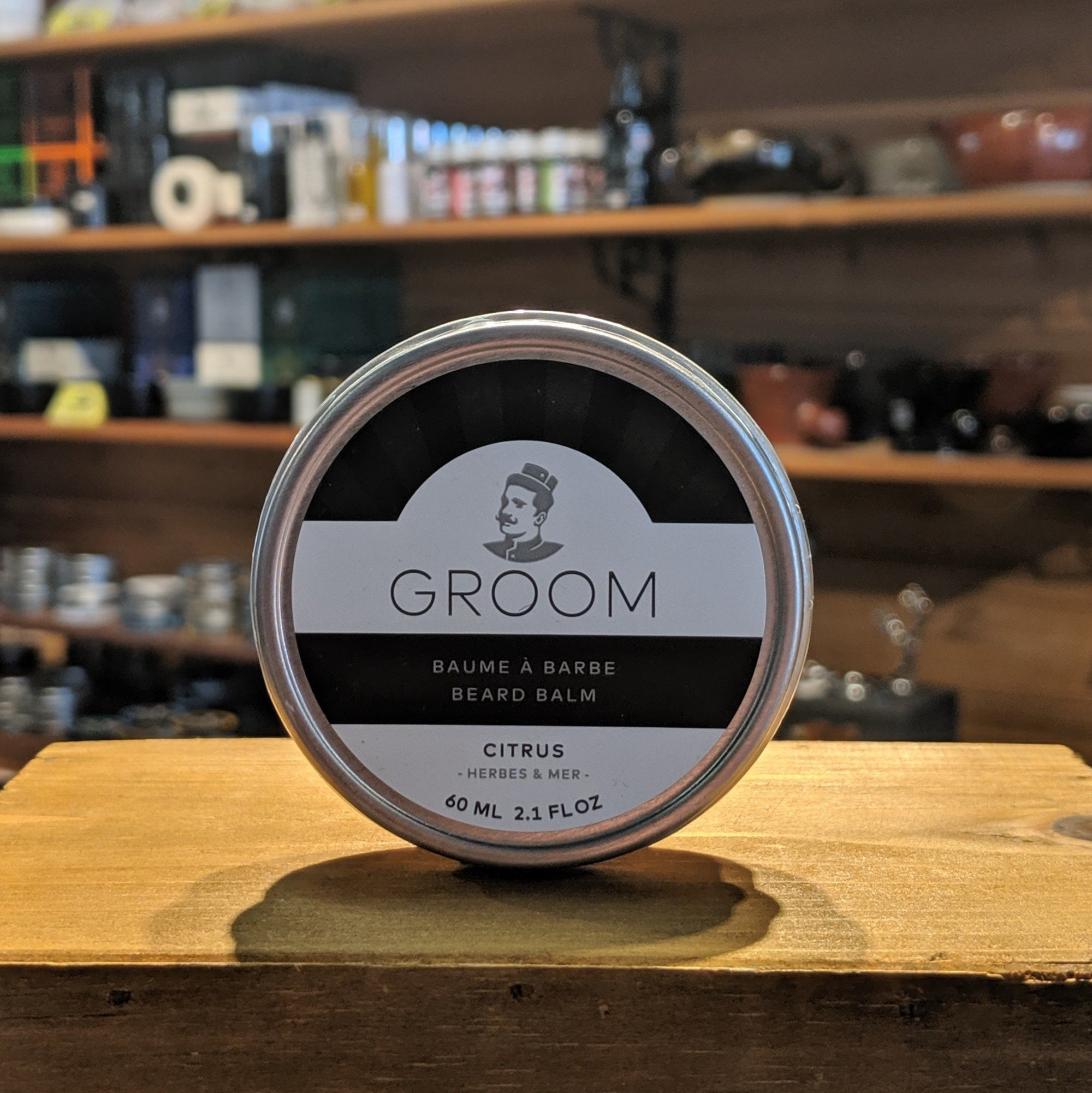 Groom Beard Balm - Citrus 60ml