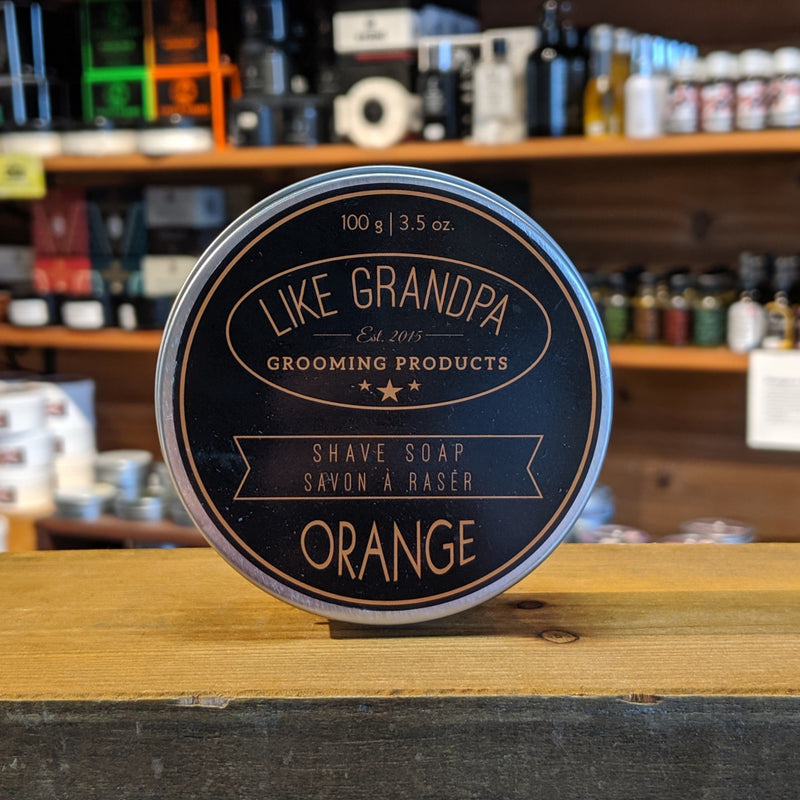 Like Grandpa Shaving Soap - Orange 100g