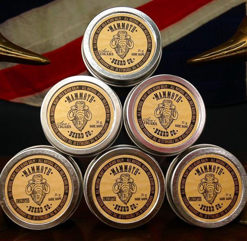 Mammoth Beard Co. Strong Hold Beard Balm Sex & Cigars 60ml