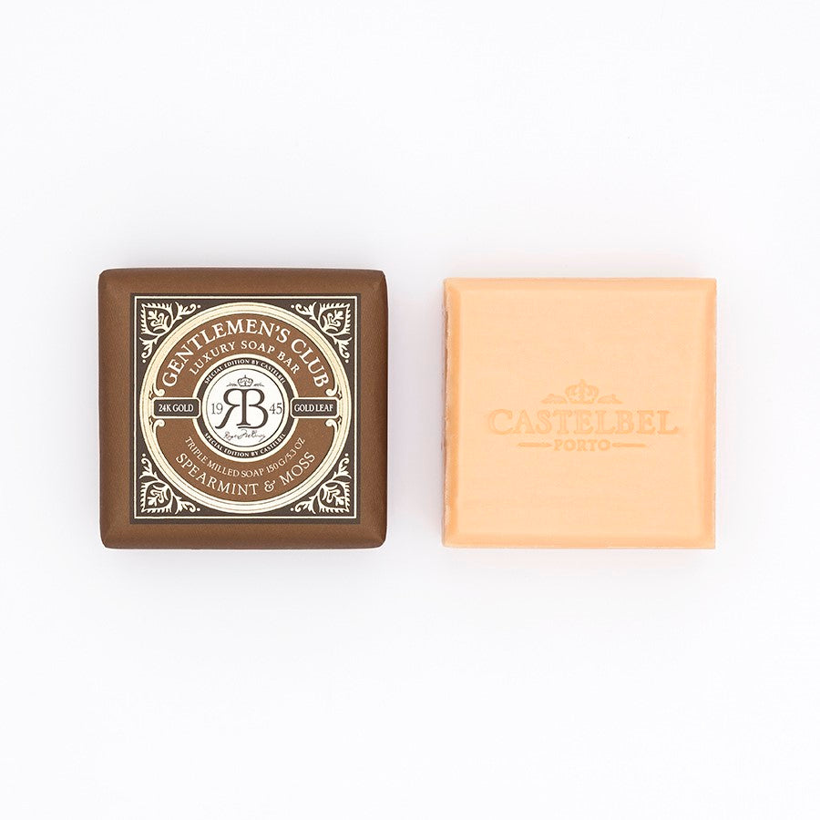 Castelbel Gentlemen's Club Spearmint and Moss 150g Soap