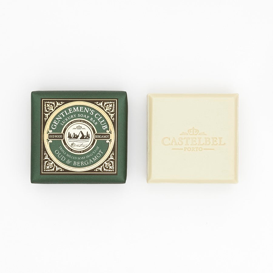 Castelbel Gentlemen's Club Oud and Bergamot 150g Soap