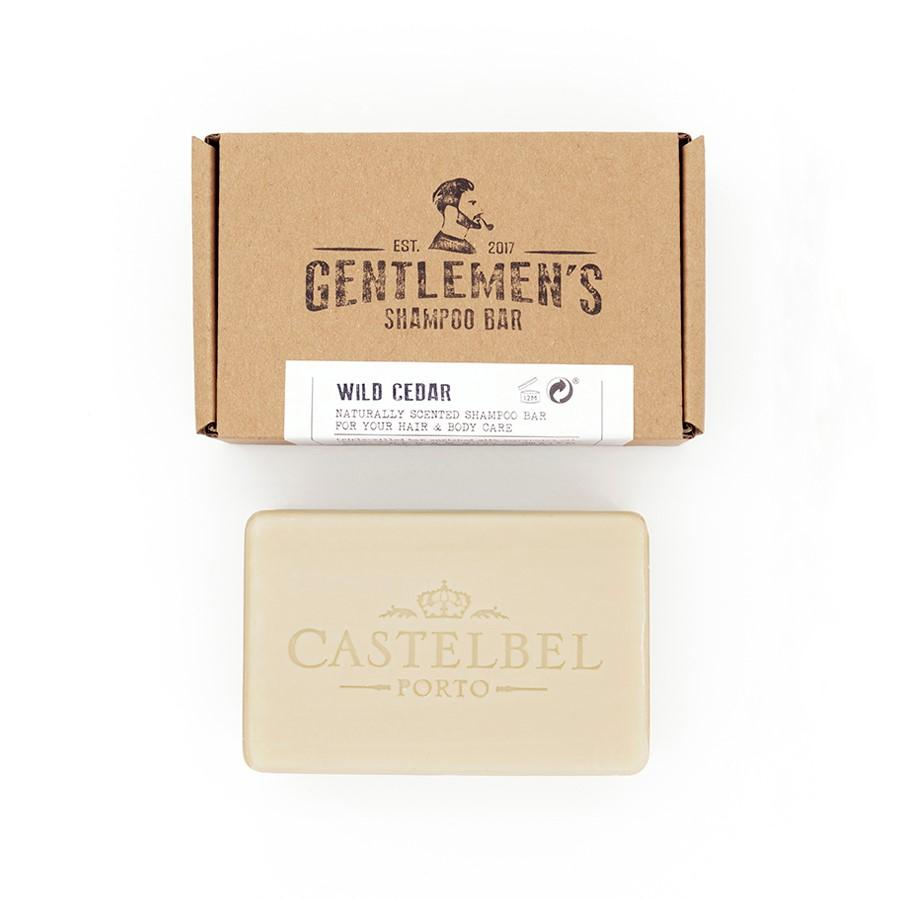 Castelbel Porto Traveller Collection Wild Cedar Shampoo Bar