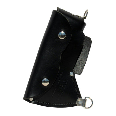 Council Tool Full Sheath for Pack Axe, Black Leather w/ D-Rings