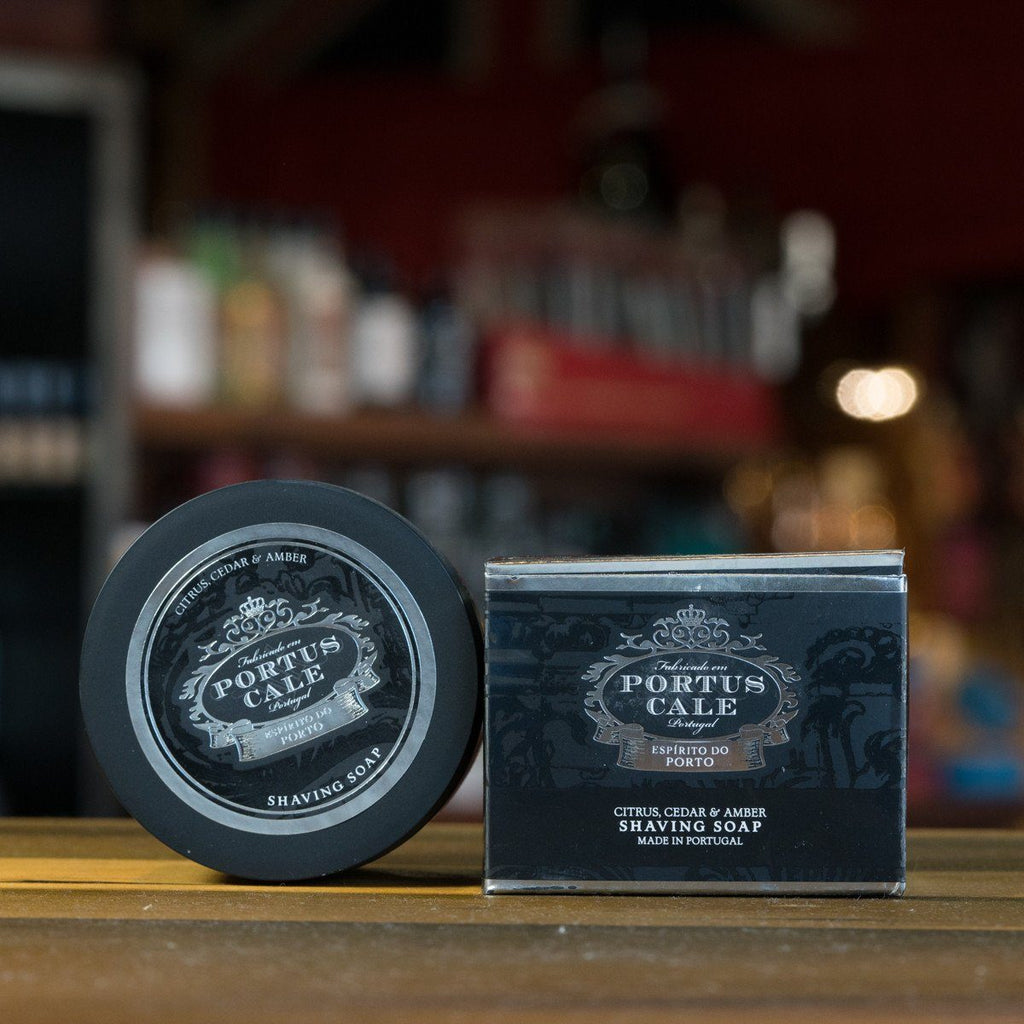 Castelbel Porto 125g Shaving Soap Black Edition