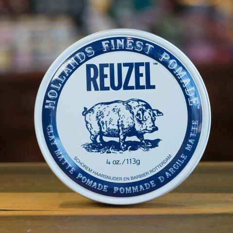 Reuzel Clay Matte Pomade White Can