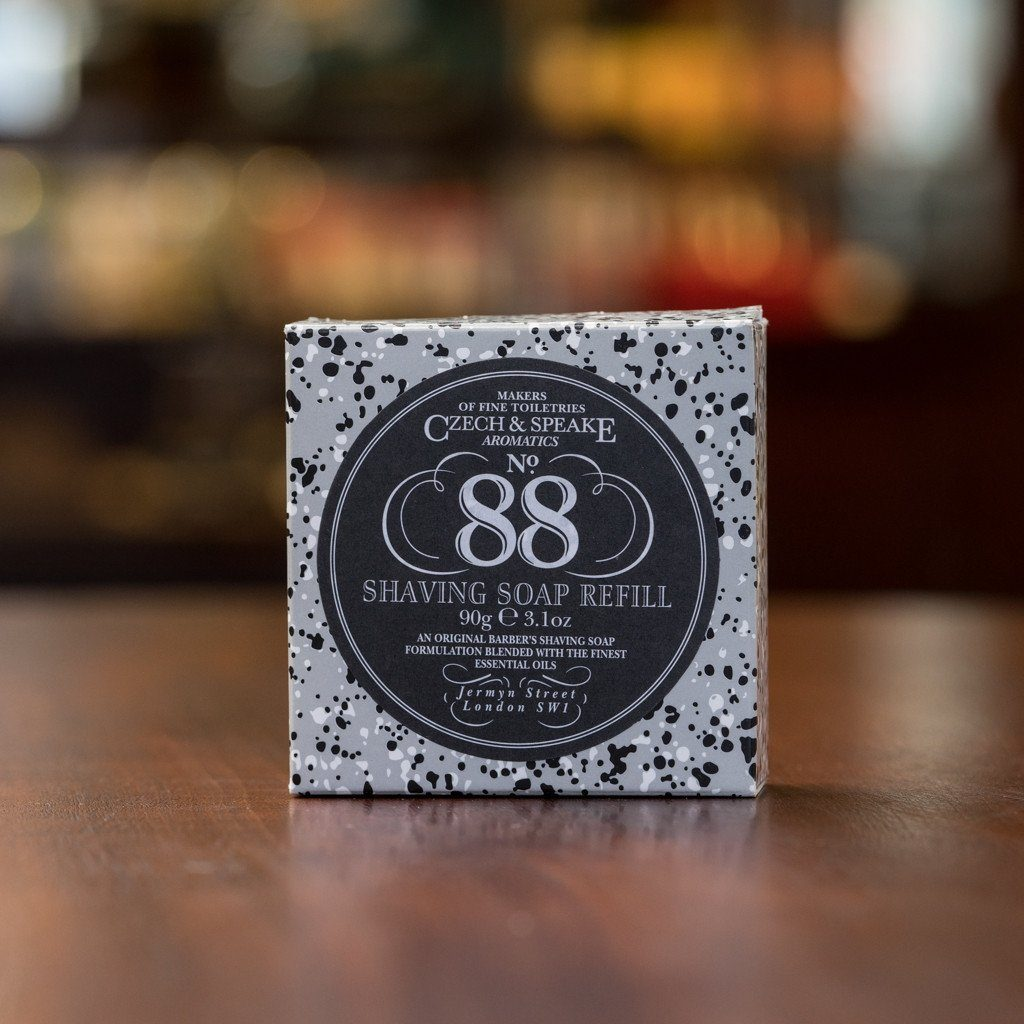 Czech and Speake No.88 Shaving Soap, Refill 90g