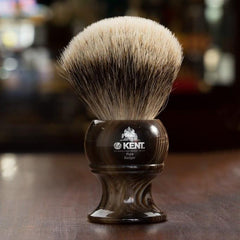 Kent Horn Shaving Brush, Best Badger, King Size