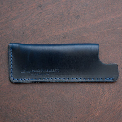 Chicago Steel Comb, Horween Leather Case for No.2 and No.4