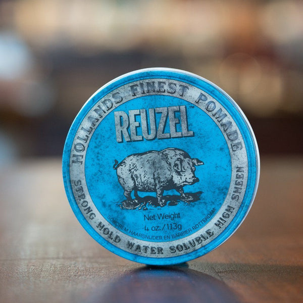 Reuzel Pomade Strong Hold Blue Can