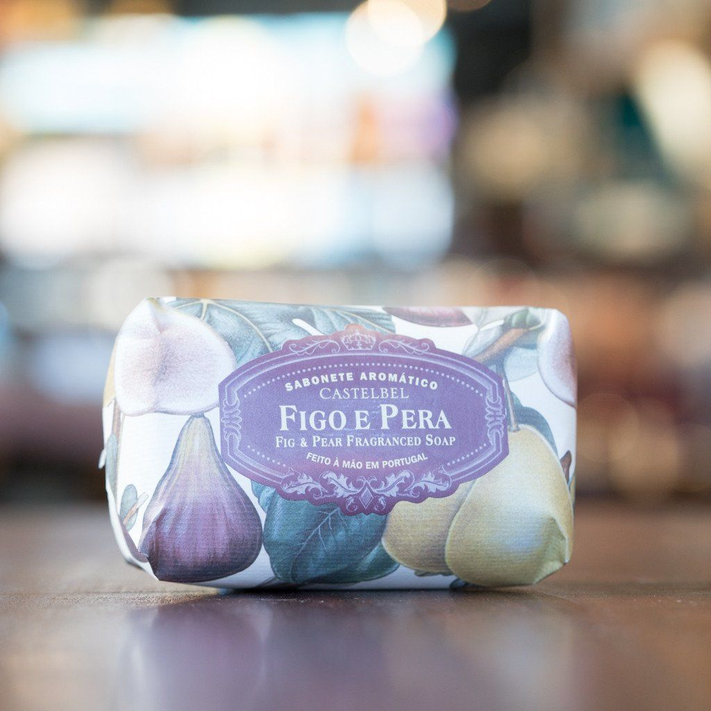 Castelbel Porto Ambiente Collection Fig and Pear Soap