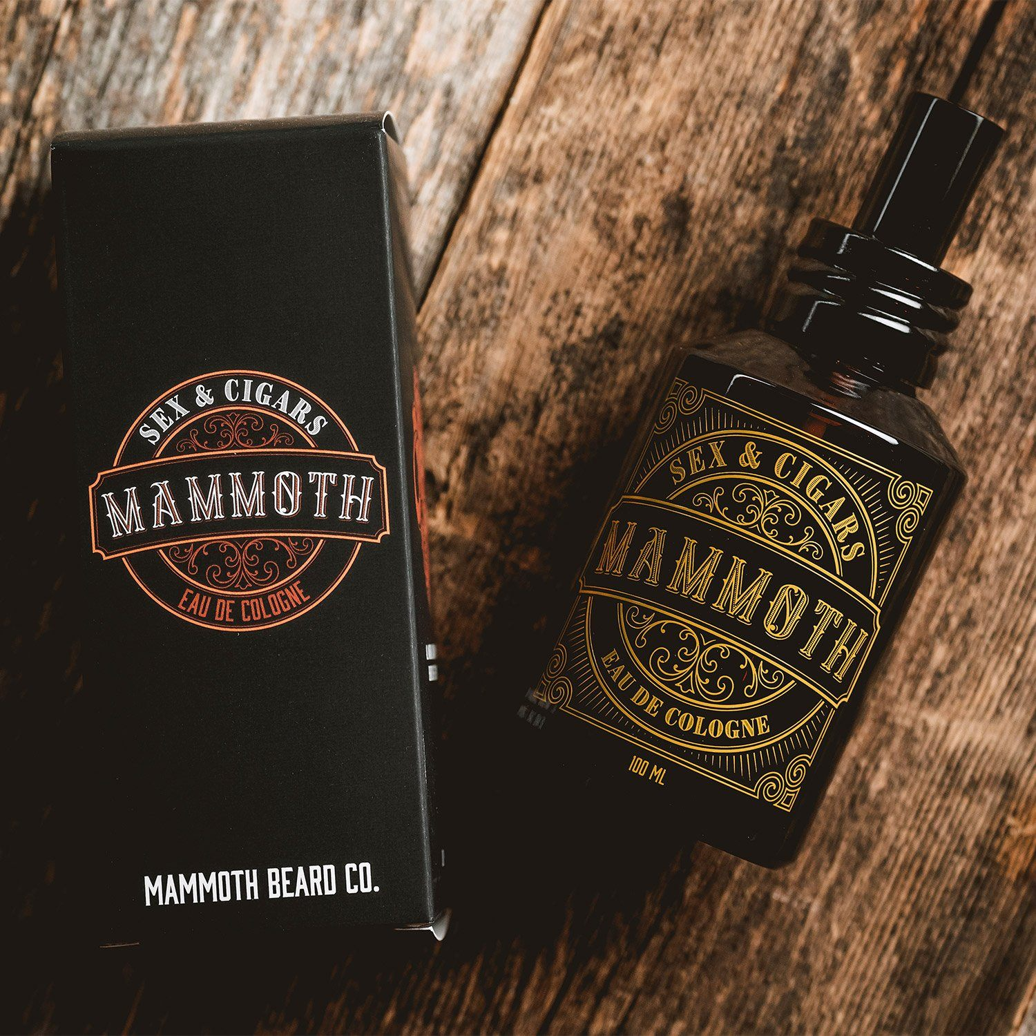 Mammoth Beard Co. Sex & Cigars Eau de Cologne