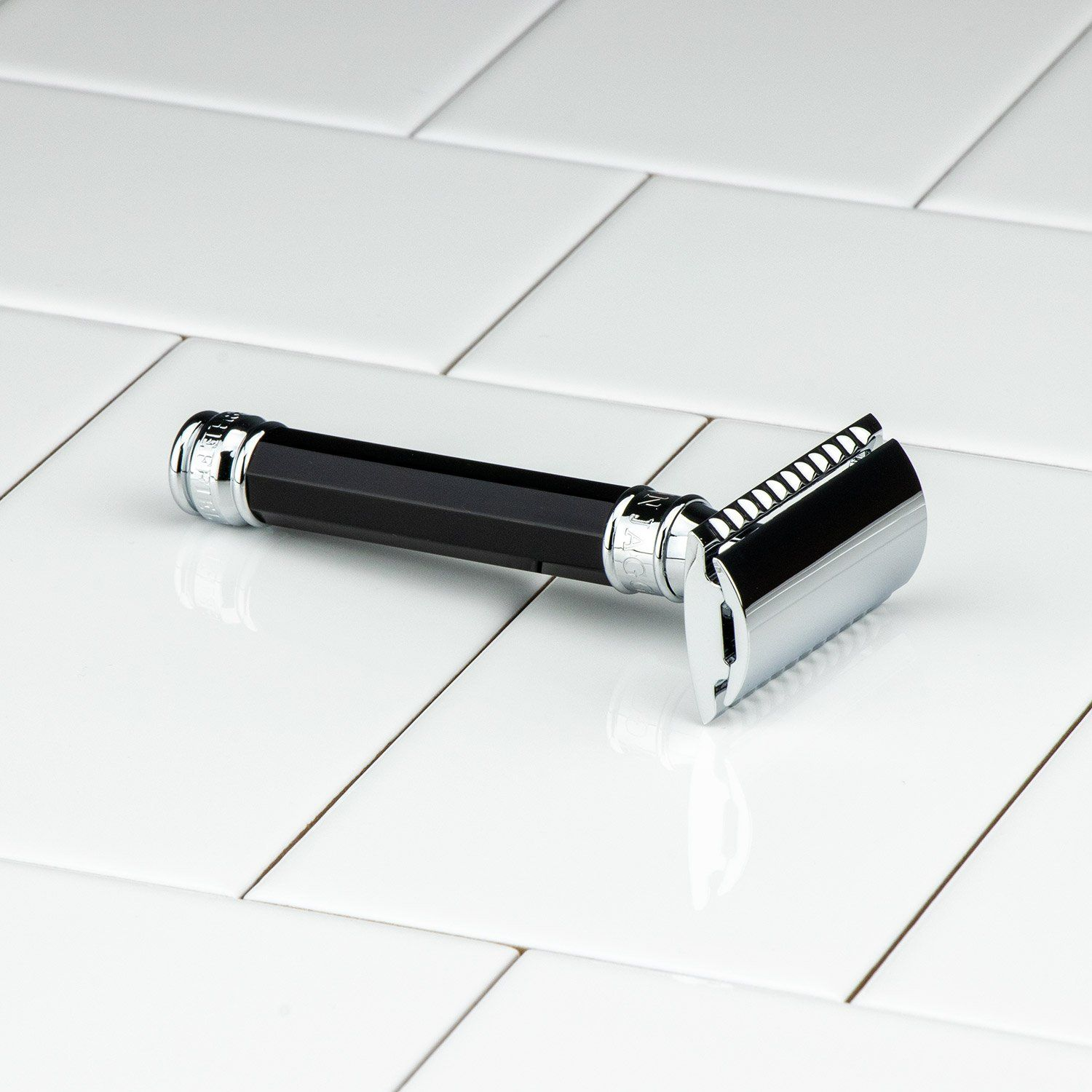 Edwin Jagger Double Edge Octagonal Handle DE Safety Razor