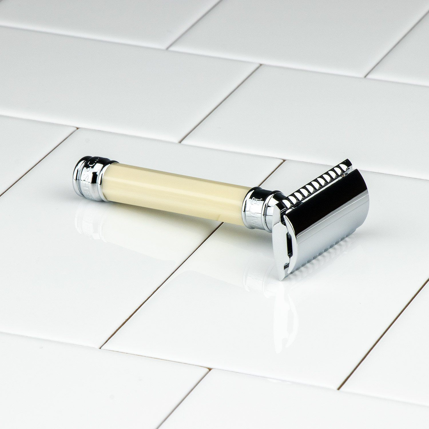 Edwin Jagger Double Edge Octagonal Handle Safety Razor