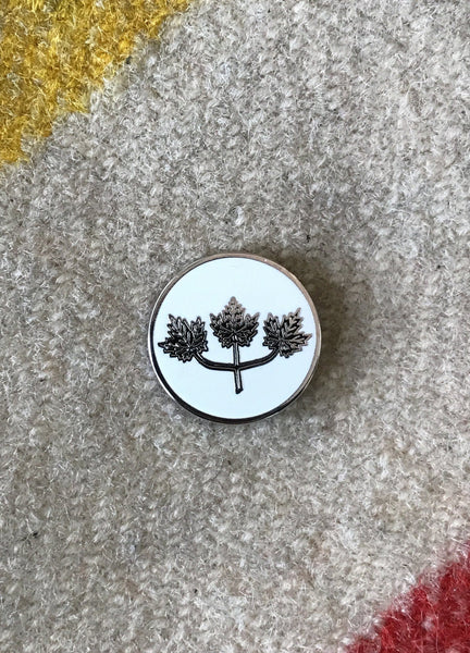 Kent of Inglewood Enamel Pin - Maple Leaf