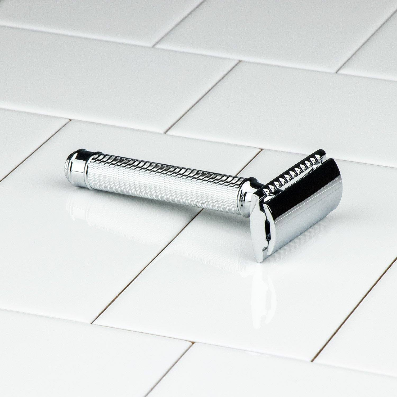 Hoxton Shave Co. Knurl Handle DE Safety Razor