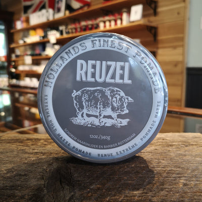 Reuzel Pomade Extreme Hold Grey Can