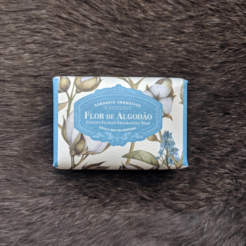 Castelbel Porto Ambiente Collection Cotton Flower Soap