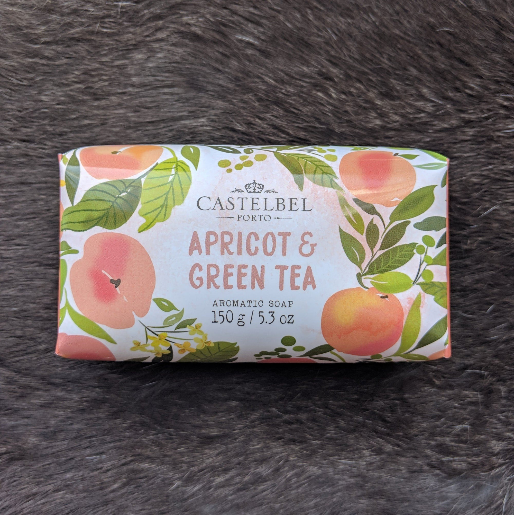 Castelbel Porto Seasonal Collection Fruits and Flowers Apricot & Green Tea Soap