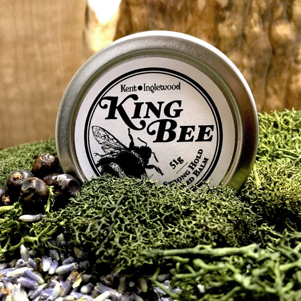 Kent of Inglewood King Bee Strong Hold Beard balm 60ml, by Mammoth Beard Co.
