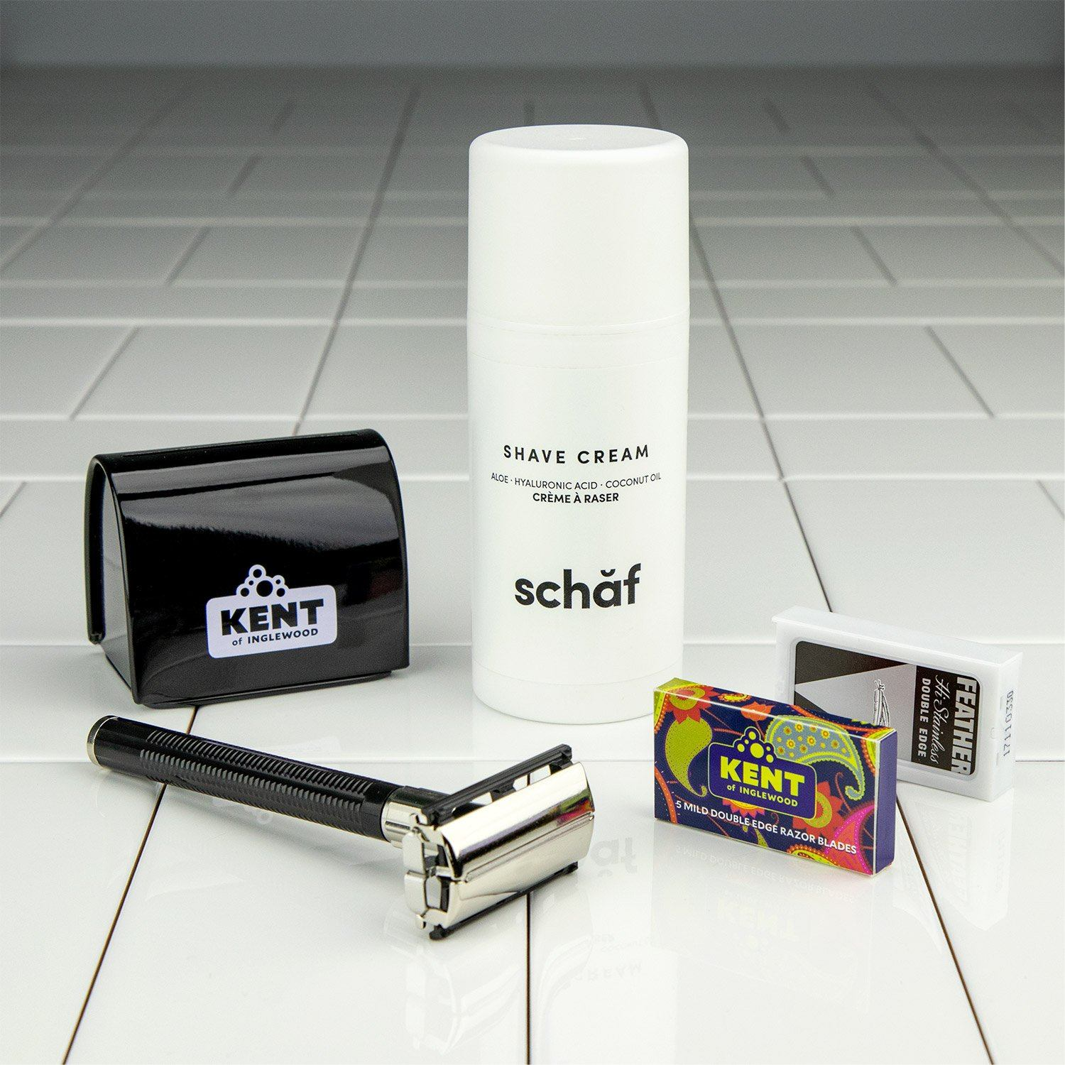 Teen Double Edge Safety Razor Starter Kit